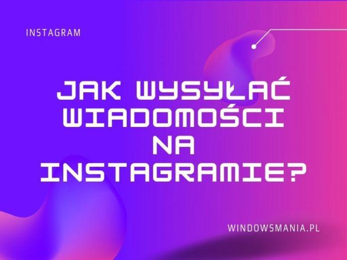 cómo enviar mensajes en instagram