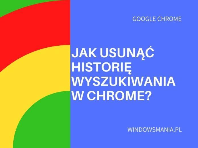 kako izbrisati povijest pretraživanja u chrome -