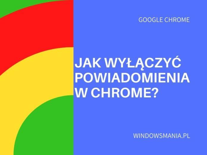 ako vypnúť oznámenia v Chrome