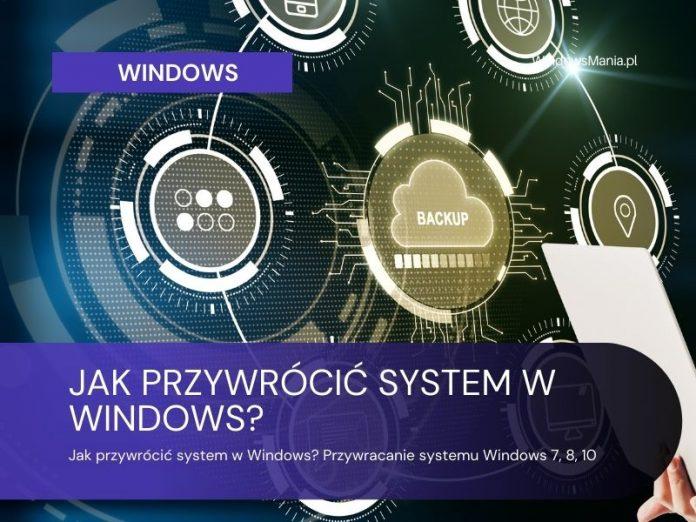 kaip atkurti sistemą Windows atkurti Windows 7 8 10
