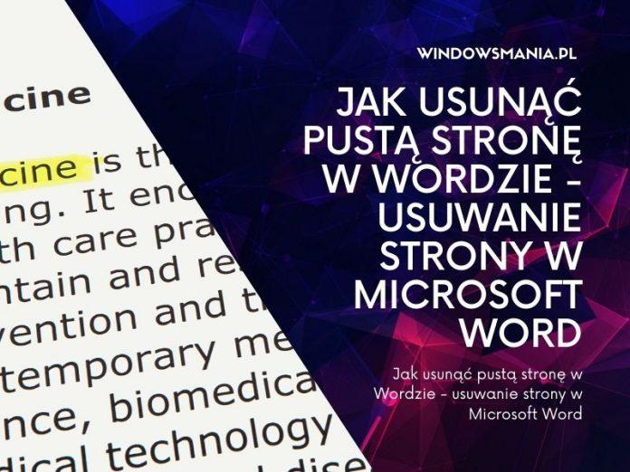 hvordan du fjerner tom side i ordet slett siden i Microsoft Word