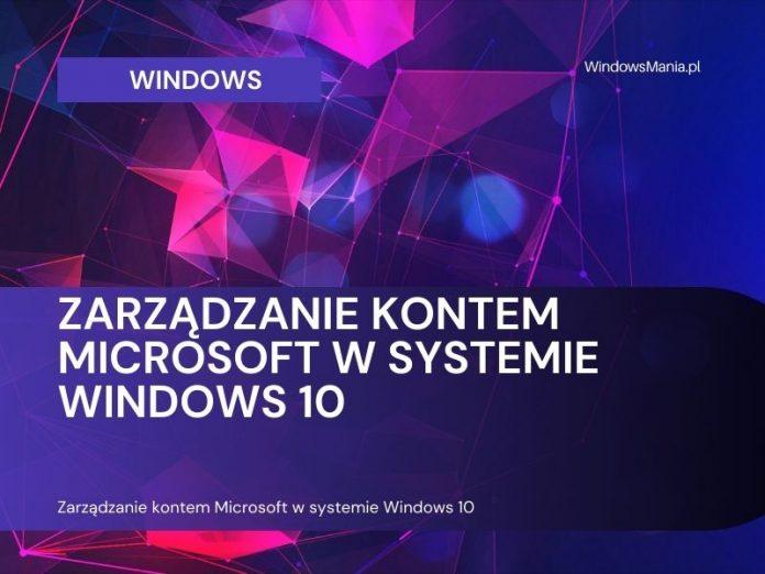 microsoft fiókkezelés a Windows 10 rendszerben